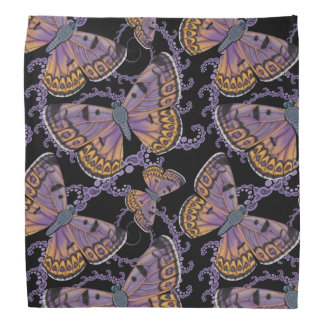 Boulder Copper Butterfly Fractal Bandana