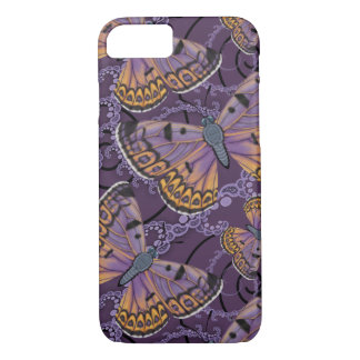 Boulder Copper Butterfly Fractal iPhone 8/7 Case