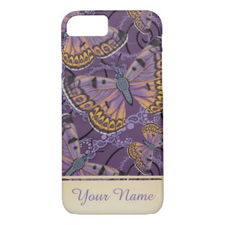 Boulder Copper Butterfly Personalized iPhone 8/7 Case