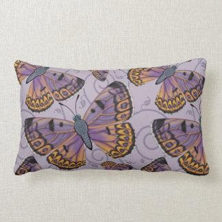 Boulder Copper Butterfly Reversible Lumbar Cushion
