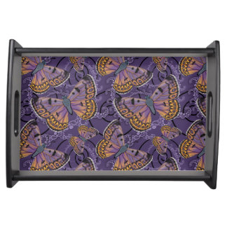 Boulder Copper Butterfly Serving Tray