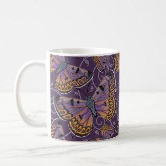 Boulder Copper Butterfly Swirl Coffee Mug