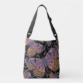 Boulder Copper Butterfly Swirl Crossbody Bag