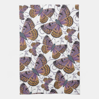 Boulder Copper Butterfly Tea Towel