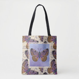 Boulder Copper Butterfly Tote Bag