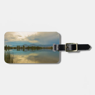 Boulder County Colorado Calm Before The Storm Luggage Tag