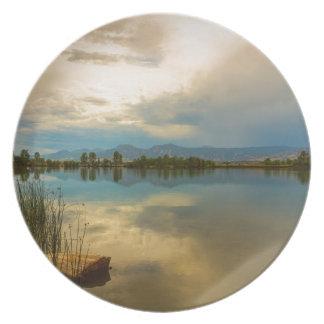 Boulder County Colorado Calm Before The Storm Plate