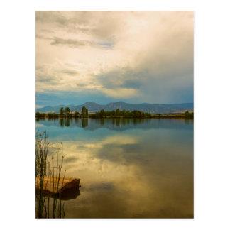 Boulder County Colorado Calm Before The Storm Postcard