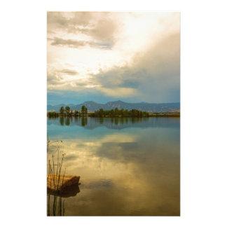 Boulder County Colorado Calm Before The Storm Stationery