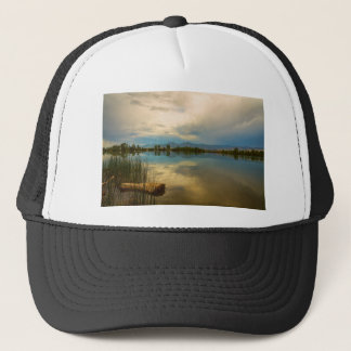 Boulder County Colorado Calm Before The Storm Trucker Hat