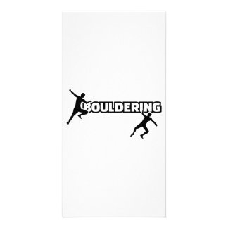 Bouldering Photo Card Template