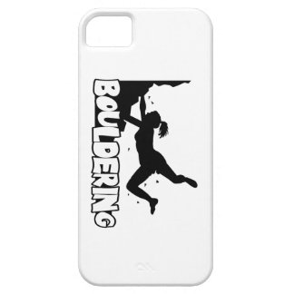 Bouldering_print women iPhone 5 cases