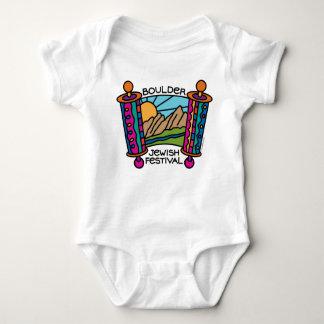 BoulderJewish Festival classic logo Baby clothes Baby Bodysuit