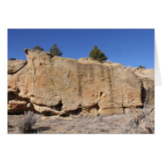 Boulders Across New Mexico Card