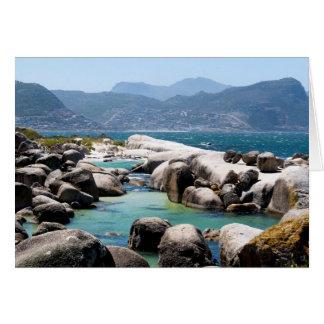 Boulders beach card