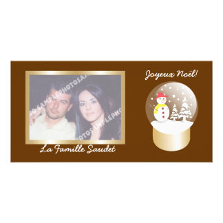 Boule a neige Snow globe cartes photo Photo Cards