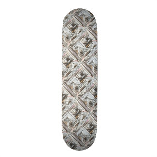 Boulevard-Hand Painted Abstract Brushstrokes 20 Cm Skateboard Deck