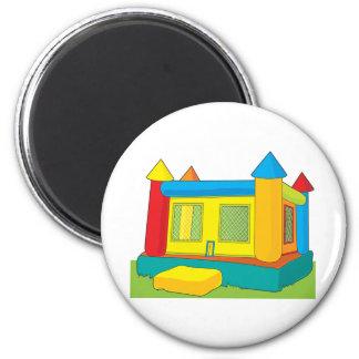 Bounce Castle 6 Cm Round Magnet