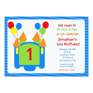 Bounce House Birthday Invitation