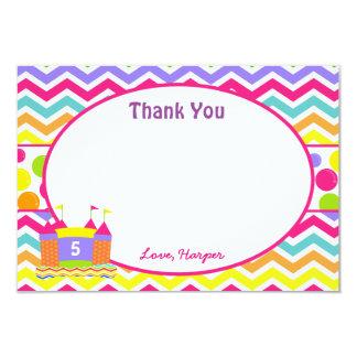Bounce House Thank You Cards 9 Cm X 13 Cm Invitation Card