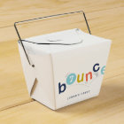 Bounce  | Party favour take out box