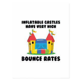 Bounce Rates Postcard