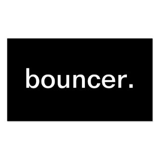 Bouncer Business Card