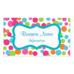 Bouncing Fun Dots Business Card