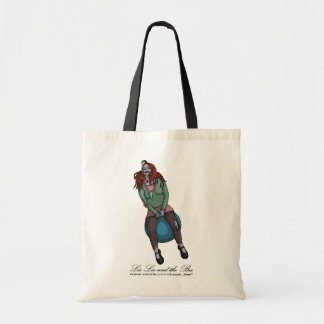 Bouncing Zombie 2, shopping bag Budget Tote Bag