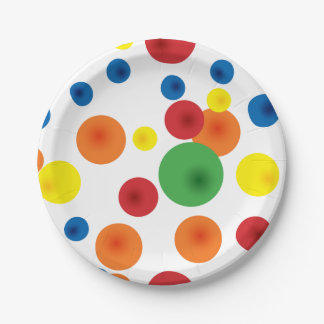 Bouncy Ball Paper Plates