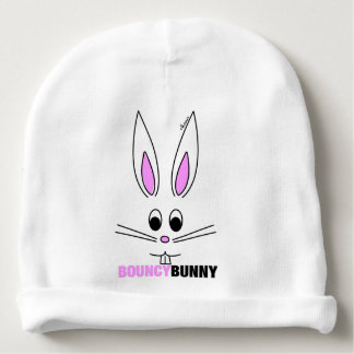 Bouncy Bunny - Baby Beanie Hat