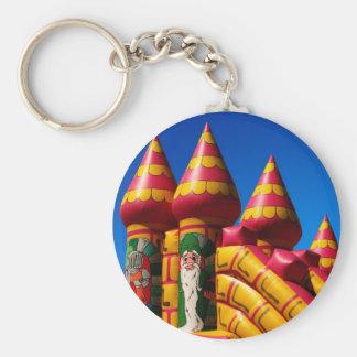 Bouncy castle keychain