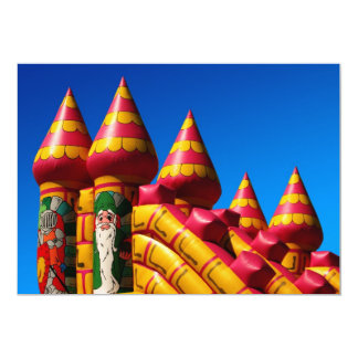 Bouncy Castle Party Invite