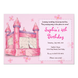 Bouncy Fun - for Girls! Card