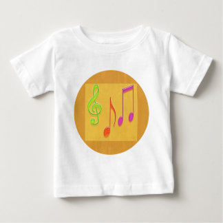 Bound to Sound Good -  Dancing Music Symbols Baby T-Shirt