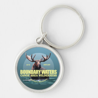 Boundary Waters CAW (Moose) WT Key Ring