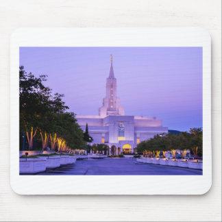 Bountiful LDS Mormon Temple Sunrise - Utah Mouse Pad