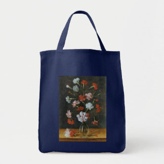 Bouquest of Carnations Grocery Tote Bag