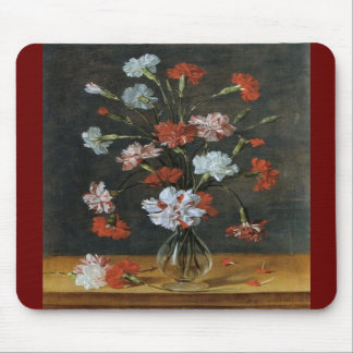 Bouquest of Carnations Mouse Pads