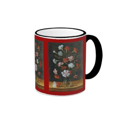 Bouquest of Carnations Mugs