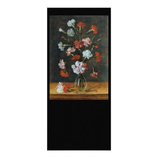 Bouquest of Carnations Full Color Rack Card