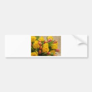 bouquet bumper sticker