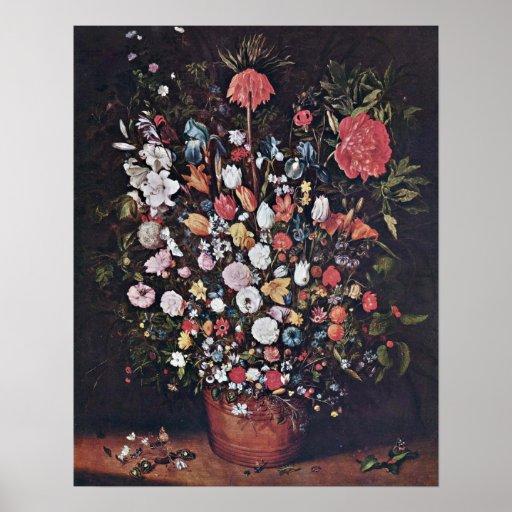 Bouquet by Jan Brueghel the Elder Posters