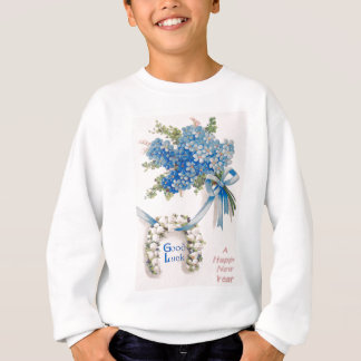 Bouquet Forget-Me-Nots Lily Of The Valley Sweatshirt