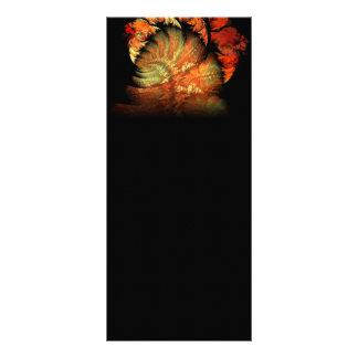 Bouquet Garni Abstract Digital Art Full Color Rack Card