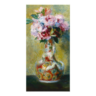 Bouquet in a Vase by Pierre-Auguste Renoir Photo Greeting Card