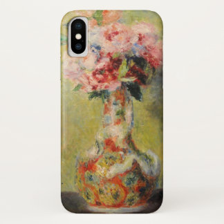 Bouquet in a Vase by Renoir iPhone X Case