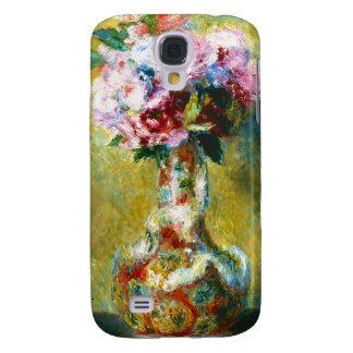 Bouquet in a Vase Pierre Auguste Renoir painting Galaxy S4 Cases