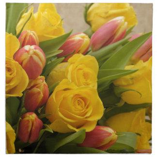 bouquet napkin