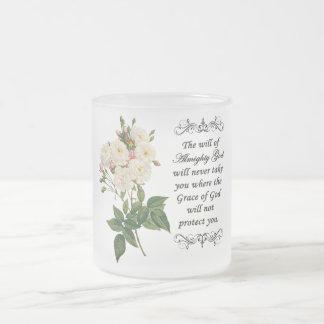 Bouquet of Beautiful White Roses Mug